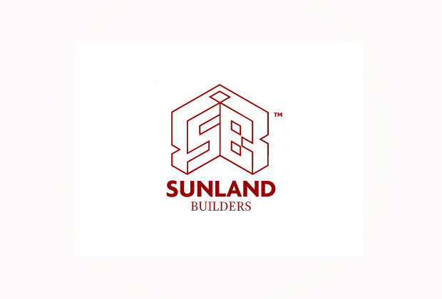 Logo design sunland builders muntinlupa