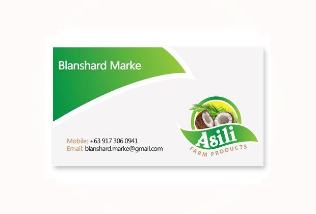 Business card design sonnydesign business card asili farm ayala makati colourmoves