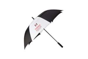 Twin canopy golf umbrella