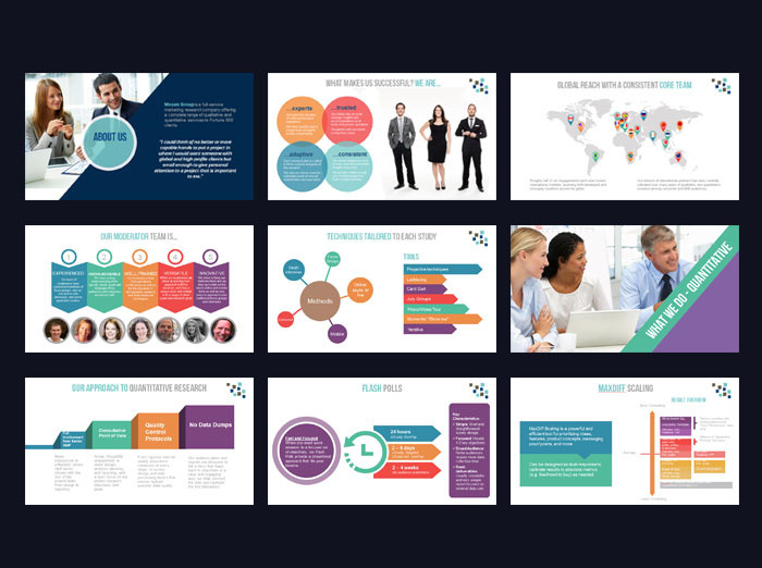 Powerpoint Template Design Sonnydesign