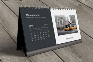 Table calendar supplier